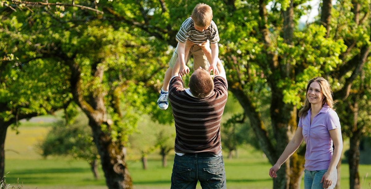 Cura del territorio, benessere della famiglia